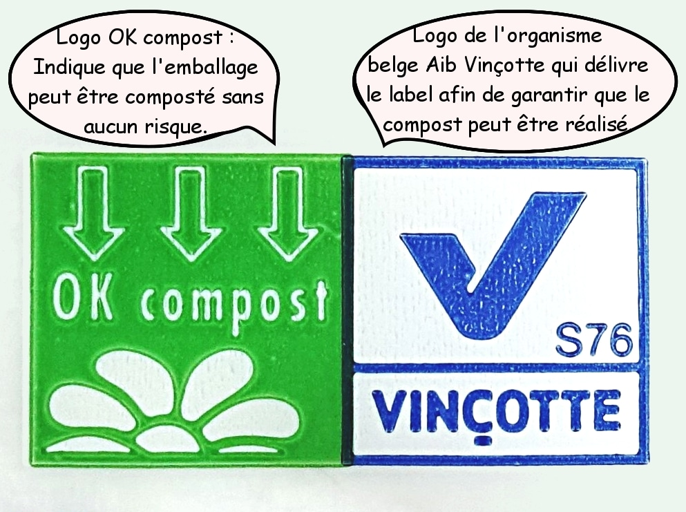 symbole pour le compost, de recyclage