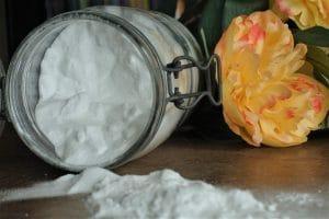 bicarbonate de soude et percarbonate pour lessive zéro déchet