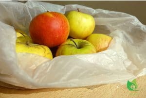Les sacs plastiques à usage unique finis en France