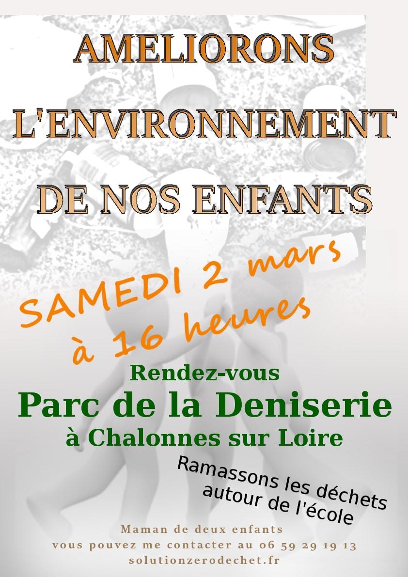 action zéro déchet à Chalonnes sur Loire