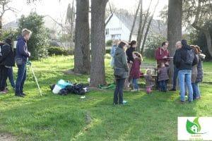 goûter fait maison zéro déchet suite au ramassage des déchets au parc de la Deniserie près de l'école Saint Joseph à Chalonnes sur Loire